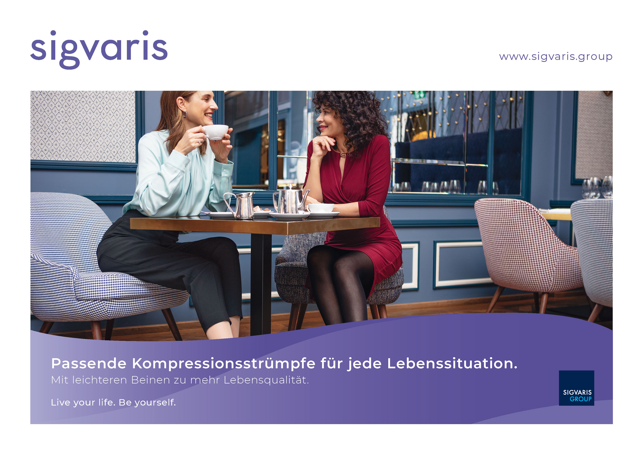 SIGVARIS ist neuer Premium-Partner von odWeb.tv