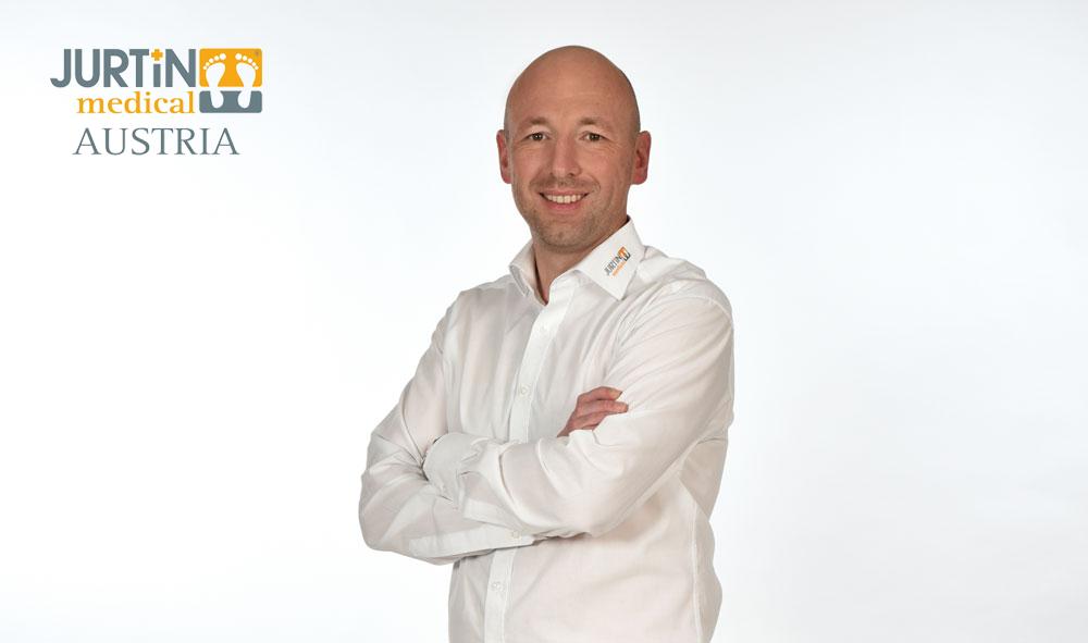 Markus Ertl Geschäftsführer Jurtin medical Systemeinlagen GmbH