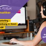 Kostenloses Online-Seminar: Monitor-Marketing für die Hörakustik