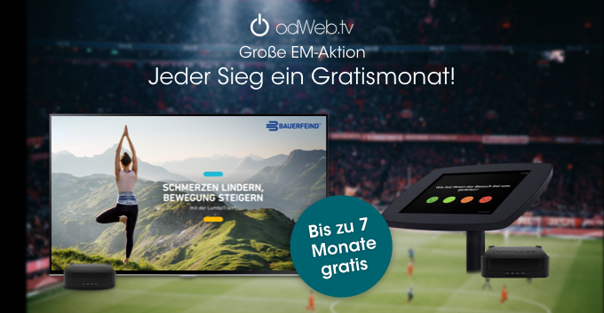odWeb.tv EM-Aktion 2021